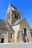 St. Mere Eglise, Normandy, France — Photo