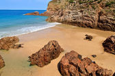 Plemont Beach, Jersey, Channel Islands, UK — Stock Photo