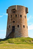 Le Hocq, Jersey Coastal Tower — Stock Photo