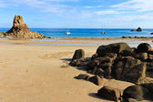 Beauport Beach, Jersey, Channel Islands, UK — Stock Photo