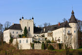 Ottensheim Castle on the danube river, Upper Austria — Stock Photo