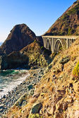 Costa de Califórnia de Big sur — Fotografia Stock