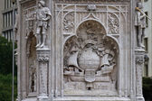 Christopher Columbus Statue, Madrid, Spain — Stock Photo