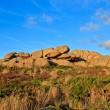 Beautiful landscape with granite boulders, Brittany, France — Stock Photo #13461937