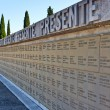 Italian World War I memorial and cemetery of Redipuglia, Italy - Stock Photo
