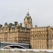 Stock Photo: Balmoral hotel in Edinburgh