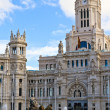 Stock Photo: Palacio de Cibeles, Madrid, Spain