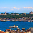 Istanbul Golden Horn View — Stock Photo