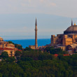 Istanbul View on Hagia Sophia — Stock Photo