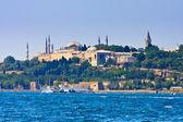Palazzo topkapi Istanbul sul Corno d'oro, Turchia — Foto Stock