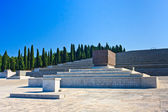 Italian World War I memorial and cemetery of Redipuglia, Italy — Stock Photo