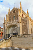Fasáda san jeronimo el skutečné kostel, madrid, španělsko — Stock fotografie
