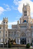 Palacio de Cibeles, Madrid, Spain — Stock Photo
