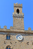 Volterra, toscana - antiga prefeitura — Fotografia Stock