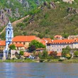 Royalty-Free Stock Photo: Durnstein on the river danube (Wachau Valley), Austria