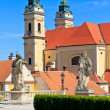 Valtice Cathedral, Unesco World Heritage Site, Czech Republic — Stock Photo