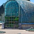 Lednice palace glass house, Unesco World Heritage Site — Stock Photo #13473183