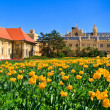 Lednice palace and gardens, Unesco World Heritage Site, Czech Republic - Stock Photo