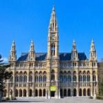City Hall of Vienna (Rathaus) — Stock Photo