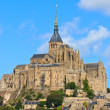Mont Saint Michel Abbey, Normandy, Brittany, France — Stockfoto