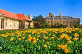 Lednice palace and gardens, Unesco World Heritage Site, Czech Republic — Stock Photo