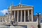 Vienna - Austrian Parliament Building — Stock Photo