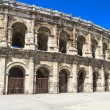 Roman Amphitheater in Nimes, France — Stock Photo