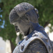 Nimeno II statue (famous matador torero), Nimes, France — Stock Photo