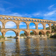 Pont du Gard, Nimes, Provence, France — Stock Photo