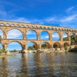 Pont du Gard, Nimes, Provence, France - Stock Photo