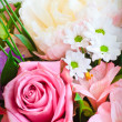 Royalty-Free Stock Photo: Rose and spring flowers  bouquet