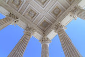 Roman Temple in Nimes, Provence, France — Stock Photo