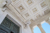 Roman Temple Details in Nimes, Provence, France — Stock Photo