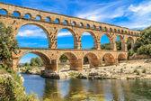 Pont du gard,尼姆,普罗旺斯法国 — 图库照片