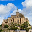 Mont Saint Michel Abbey, Normandy. Brittany, France — Stock Photo