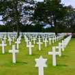 American War Cemetery near Omaha Beach, Normandy (Colleville-sur — Stock Photo #14331061