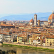 View of Florence Firenze, Tuscany, Italy - Stock Photo
