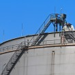 Oil reservoir on a petrochemical plant — Stock Photo #14335947