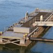 Pontoon Block, Bridge - Foto de Stock