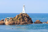 Corbiere Lighthouse, Jersey, The Channel Islands — Stock Photo