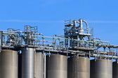 Tanque industrial, silo — Foto de Stock