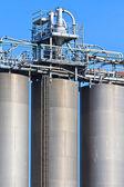 Industrie bulk tank, silo — Stockfoto