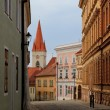 Historical city of Znojmo, Znaim, Czech Republic — Stock Photo