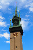 Town hall Tower, Znojmo Znaim, Czech Republic — Stock Photo
