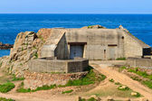 German Atlantic Wall Bunker, Jersey — Stock Photo