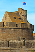 St. Malo Hotel de Ville, Tower and Fortifications, Brittany, Fra — Stock Photo