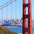 Golden Gate Bridge View on San Francisco, California — Stock Photo