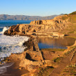 Sutro Baths in San Francisco - Stock Photo