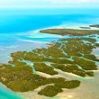 Stock Photo: FloridKeys Aerial View