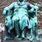 Johann Wolfgang von Goethe Statue — Stock Photo #14667035